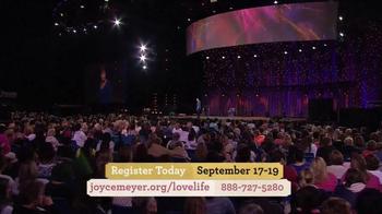 Joyce Meyer Ministries TV Spot, 'Love Life Women's Conference' - Thumbnail 5