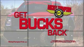 Mickey Thompson Performance Tires & Wheels TV Spot, 'Get Bucks Back'