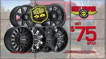 Mickey Thompson Performance Tires & Wheels TV Spot, 'Get Bucks Back' - Thumbnail 4
