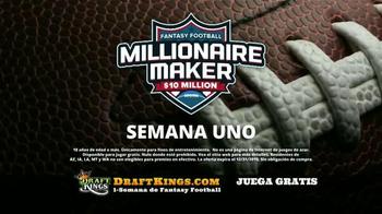 DraftKings Millionaire Maker TV Spot, 'Ambiente del ganador' [Spanish] - Thumbnail 4