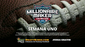 DraftKings Millionaire Maker TV Spot, 'Ambiente del ganador' [Spanish] - Thumbnail 5
