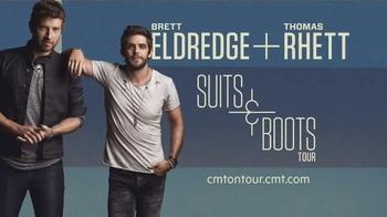 CMT Suits & Boots Tour TV Spot, 'Naming the Tour'