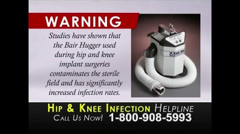 Law Offices of Travis Walker TV Spot, 'Hip & Knee Infection' - Thumbnail 2