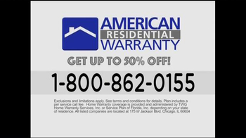 American Residential Warranty TV Spot, 'Home Appliance Repairs' - Thumbnail 5