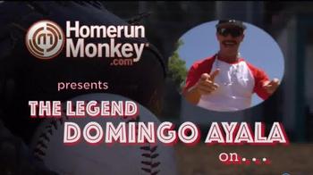 HomeRunMonkey.com TV Spot, 'Hit by Pitch' Featuring Domingo Ayala - Thumbnail 1
