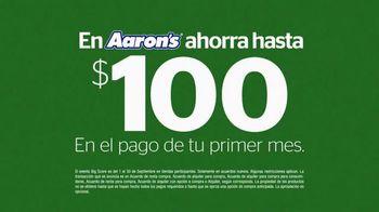 Aaron's El Evento Big Score 2015 TV Spot, 'Colchón volador' [Spanish] - Thumbnail 5