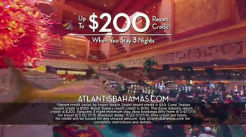 Atlantis Labor Day Sale TV Spot, 'Paradise Island' - Thumbnail 8