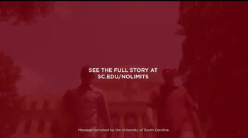 University of South Carolina TV Spot, 'What No Limits Means to Me' - Thumbnail 9