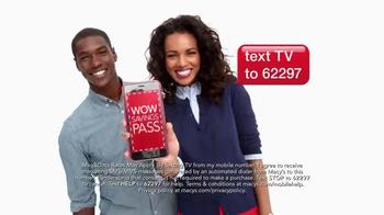Macy's Labor Day Sale TV Spot, 'Wow Pass' - Thumbnail 6