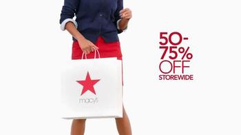 Macy's Labor Day Sale TV Spot, 'Wow Pass' - Thumbnail 2