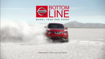Nissan Bottom Line Model Year-End Event TV Spot, 'Bonus Cash Ends Soon' - Thumbnail 4