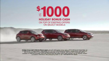 Nissan Bottom Line Model Year-End Event TV Spot, 'Bonus Cash Ends Soon' - Thumbnail 5