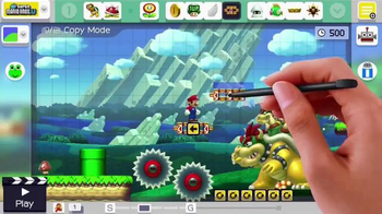 Super Mario Maker TV Spot, 'Any Level Imaginable' - 357 commercial airings