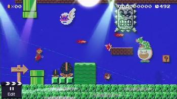 Super Mario Maker TV Spot, 'Any Level Imaginable' - Thumbnail 7