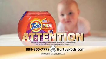 Wright & Schulte, LLC TV Spot, 'Hurt by Pods'