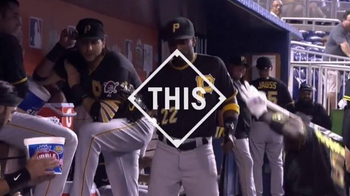 Major League Baseball TV Spot, '#THIS: Pirates Break Out Pregame Dance' - Thumbnail 4