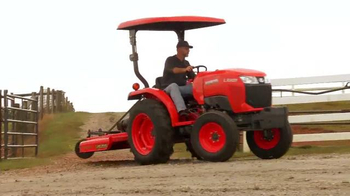 Kubota Power to Do Great Things Sales Event TV Spot, 'New Project Plans' - Thumbnail 4