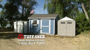 Tuff Shed TV Spot, 'Tuff Shed Does it All' - Thumbnail 1