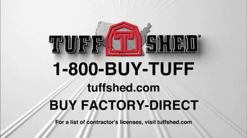 Tuff Shed TV Spot, 'Tuff Shed Does it All' - Thumbnail 9