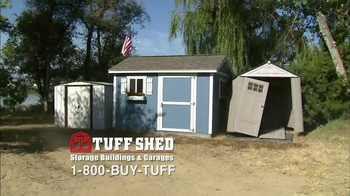 Tuff Shed TV Spot, 'Tuff Shed Does it All' - Thumbnail 2