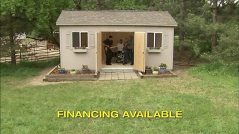 Tuff Shed TV Spot, 'Tuff Shed Does it All' - Thumbnail 5