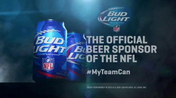 Bud Light TV Spot, 'My Team Can' - Thumbnail 5