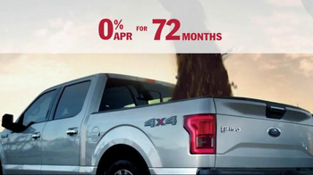 Ford Free Ride Sales Event TV Spot, 'Every 2015 Truck' - Thumbnail 4
