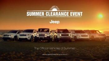 Jeep Summer Clearance Event TV Spot, 'Cherish the Summer' - Thumbnail 7