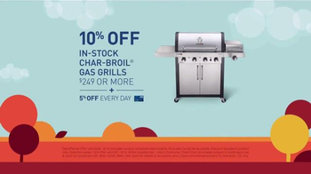 Lowe's Labor Day Savings TV Spot, 'Deck Boards, Fence Panels & Grills' - Thumbnail 5