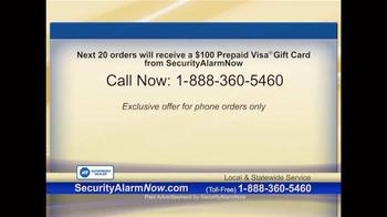 Security Alarm Now TV Spot, 'Rest Easy' - Thumbnail 10