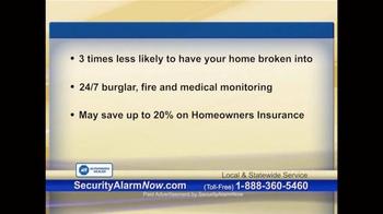 Security Alarm Now TV Spot, 'Rest Easy' - Thumbnail 4