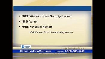 Security Alarm Now TV Spot, 'Rest Easy' - Thumbnail 6