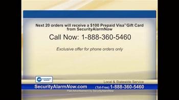 Security Alarm Now TV Spot, 'Rest Easy' - Thumbnail 9