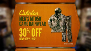 Cabela's Fall Great Outdoor Days TV Spot, 'Save Big on Hunting Gear' - Thumbnail 7