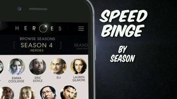Heroes Reborn App TV Spot, 'Speed Binge' - Thumbnail 4
