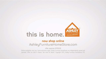 Ashley Furniture Homestore Labor Day Event TV Spot, 'Room Packages' - Thumbnail 10