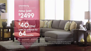 Ashley Furniture Homestore Labor Day Event TV Spot, 'Room Packages' - Thumbnail 6