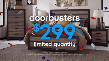 Ashley Furniture Homestore Labor Day Event TV Spot, 'Room Packages' - Thumbnail 7