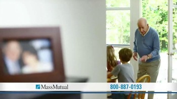 MassMutual Guaranteed Acceptance Life Insurance TV Spot, 'Grandpa' - Thumbnail 3