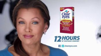 Clear Eyes Maximum Redness Relief TV Spot, 'Trust' Feat. Vanessa Williams - 466 commercial airings
