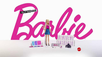 Barbie Glitter Hair Doll TV Spot, 'Go Glitter Wild' - Thumbnail 8