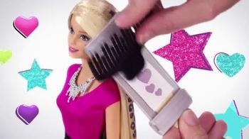 Barbie Glitter Hair Doll TV Spot, 'Go Glitter Wild' - Thumbnail 4