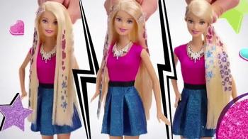 Barbie Glitter Hair Doll TV Spot, 'Go Glitter Wild' - Thumbnail 6