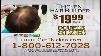 DiCesare Thicken TV Spot, 'Hair Builder' - Thumbnail 10