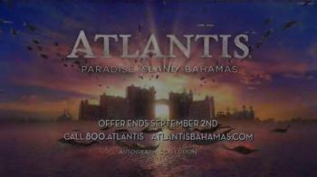 Atlantis TV Spot, 'September 2015: $250 Airfare Credit' - Thumbnail 8