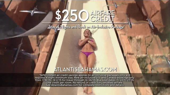 Atlantis TV Spot, 'September 2015: $250 Airfare Credit' - Thumbnail 4