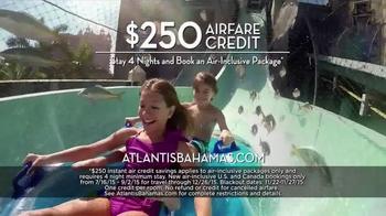 Atlantis TV Spot, 'September 2015: $250 Airfare Credit' - Thumbnail 5