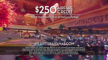 Atlantis TV Spot, 'September 2015: $250 Airfare Credit' - Thumbnail 6