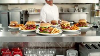 Denny's Spicy Sriracha Burger TV Spot, 'Awesome Sauce' - Thumbnail 6