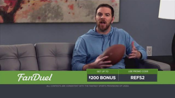 FanDuel Fantasy Football One-Week Leagues TV Spot, 'Get Paid for Knowledge' - Thumbnail 1